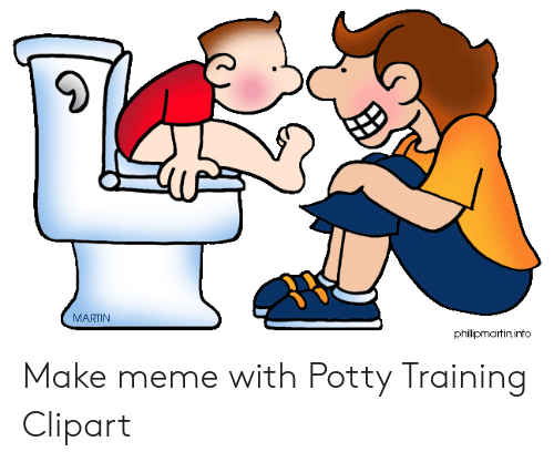 MARTIN Phillipmartininfo Make Meme With Potty Training Clipart.
