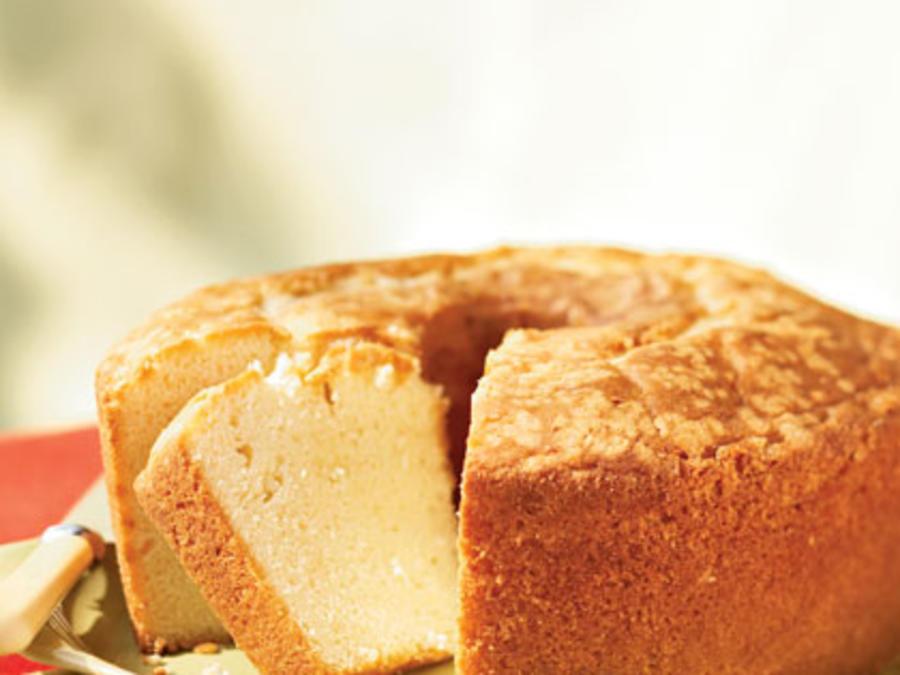 Sour Cream Pound Cake Recipe.