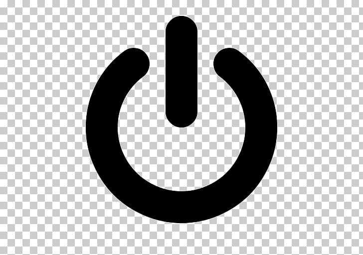 Computer Icons Button Power symbol , on off Button, black.