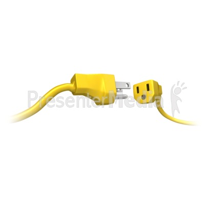 Male Female Power Cord Connect.