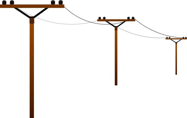 Clip Art Free Power Lines.