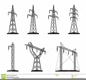 Clipart Of Power Lines.