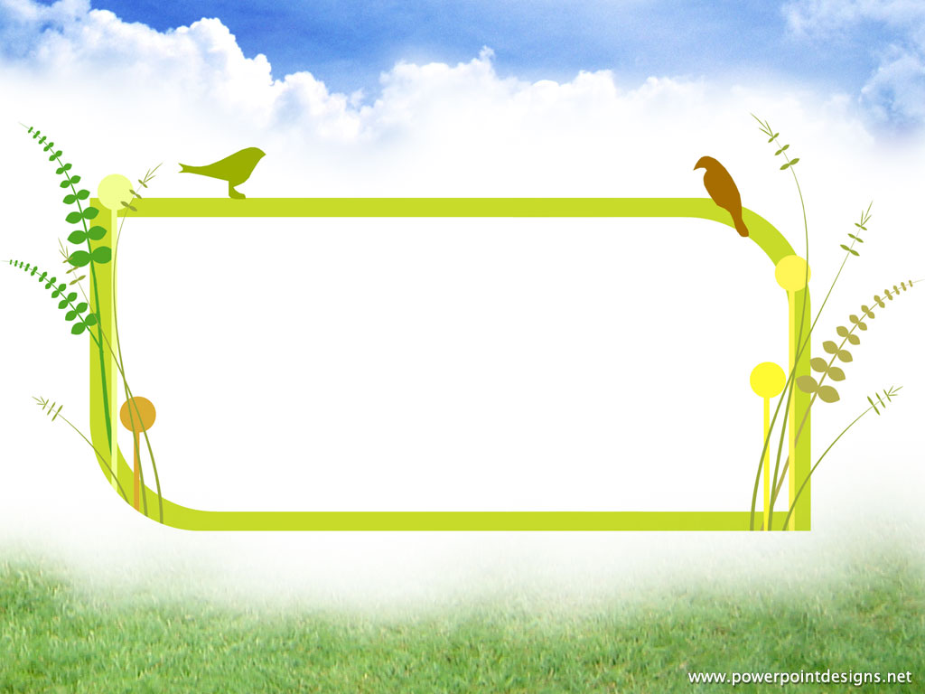 Animated Clipart Birds Backgrounds For PowerPoint.
