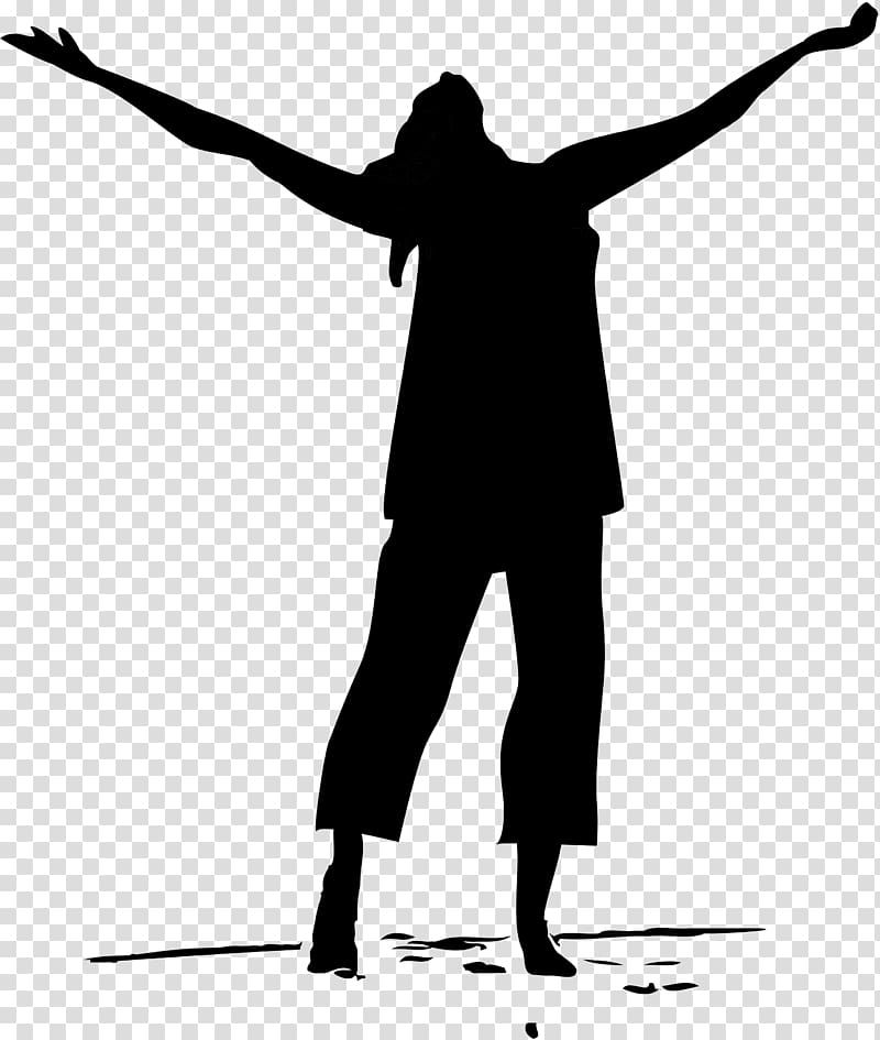 Person illustration, Liturgical dance Worship Praise , enjoy.