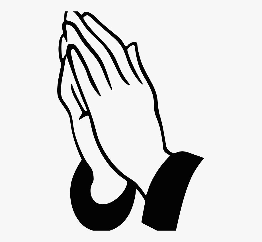 Download Agreeable Prayer Hands Clip Art.