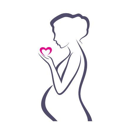 Pregnant Mom Clipart Free Download Clip Art.