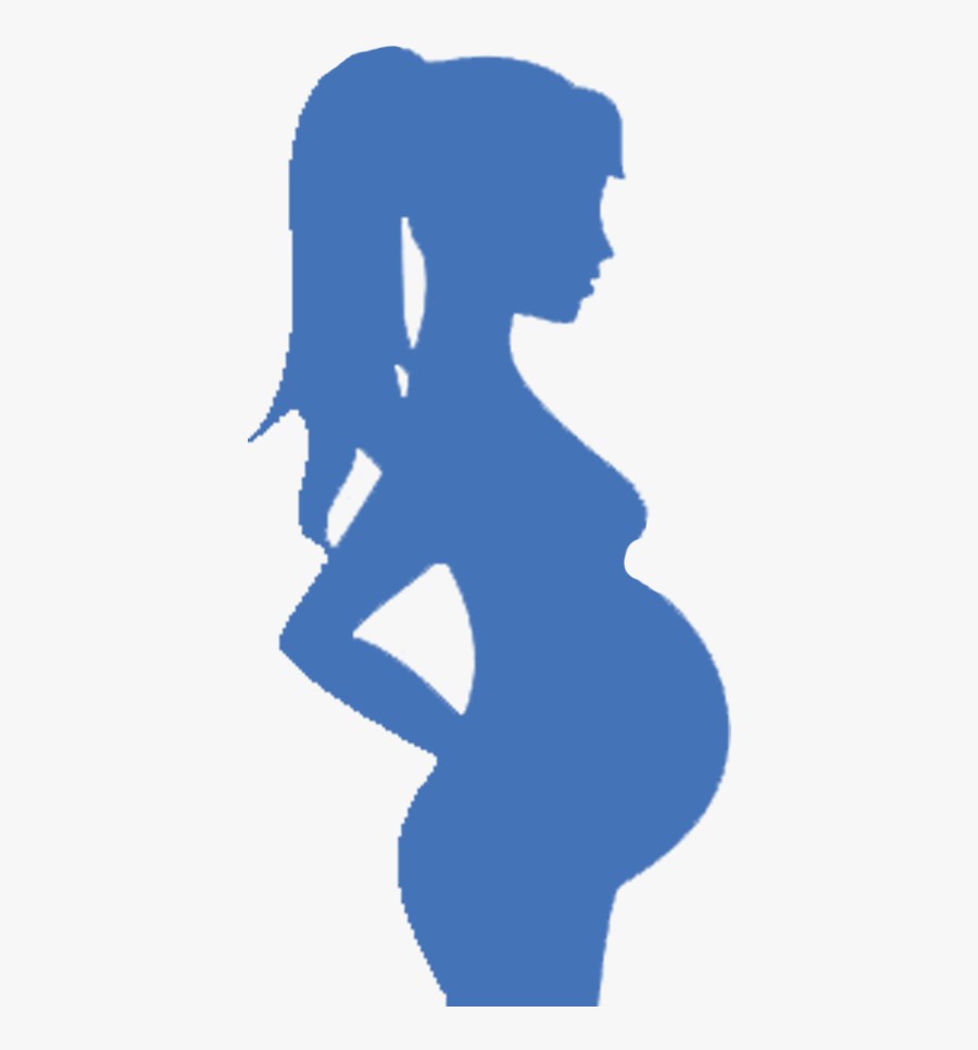 Transparent Pregnant Silhouette Png.