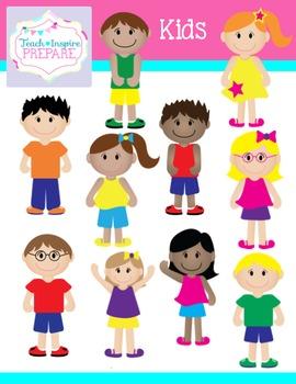 Kids Clipart by Teach Inspire Prepare.