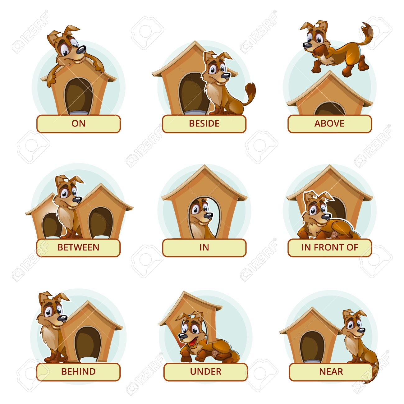 On preposition clipart » Clipart Station.
