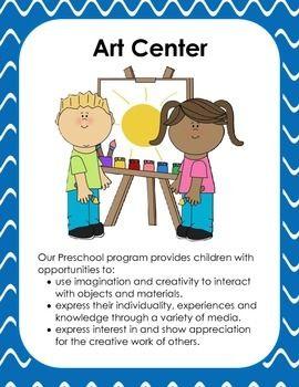 Preschool Center Signs.