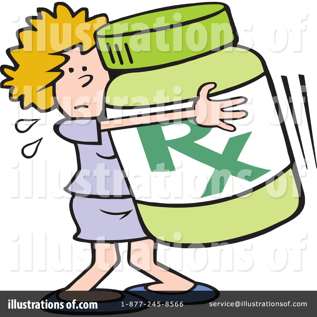 Prescribed Drugs Clip Art.