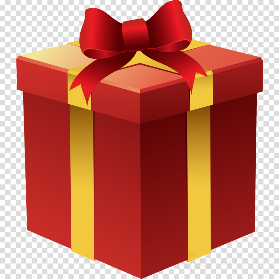 present red ribbon clip art gift wrapping clipart.