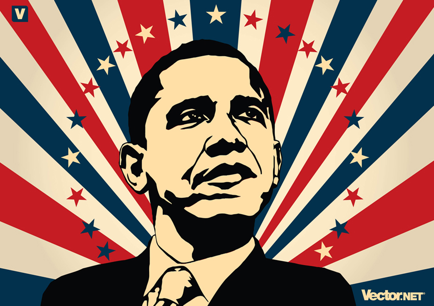 Barack Obama Vector Art & Graphics.