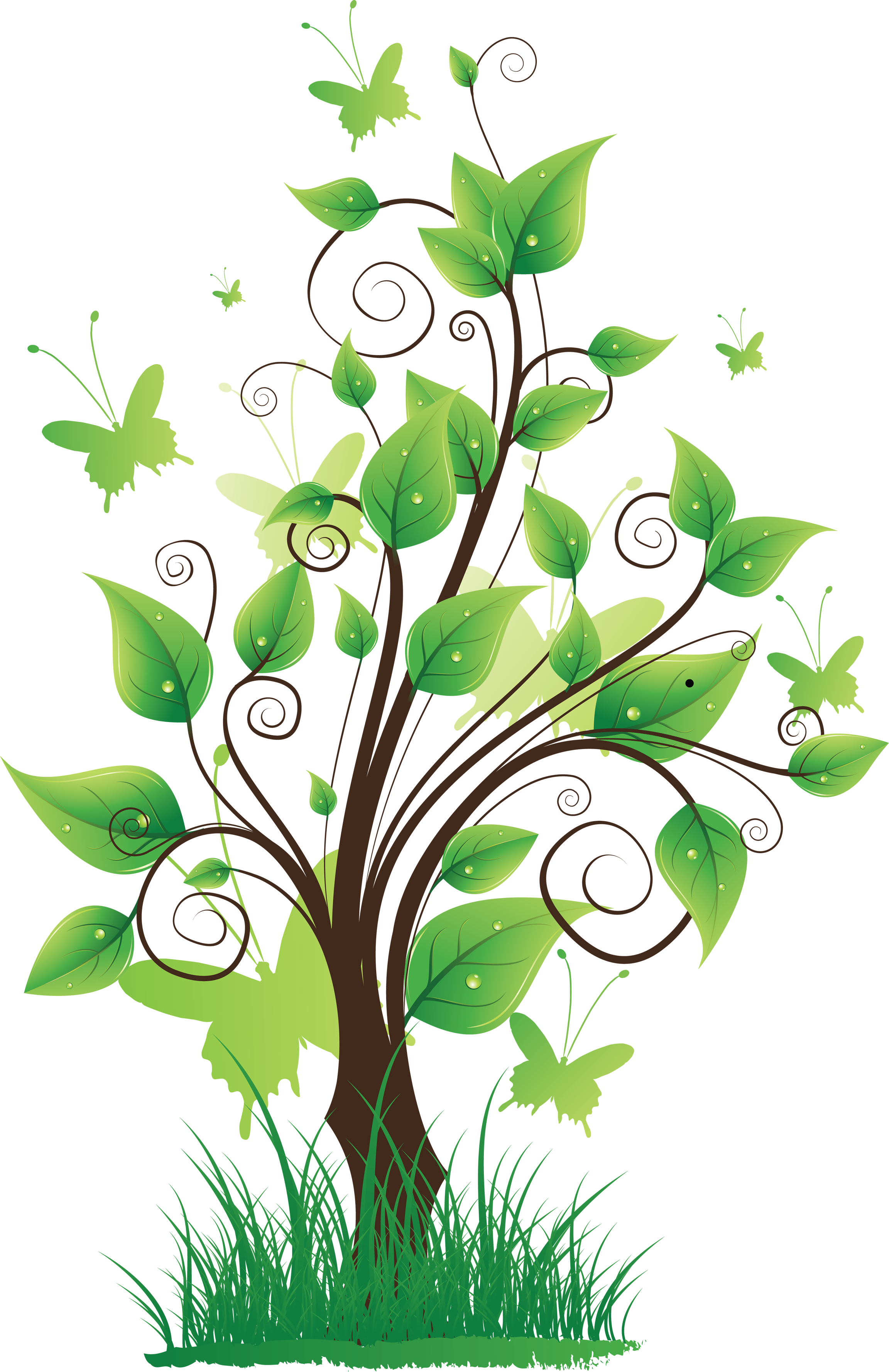 clipart pretty nature png