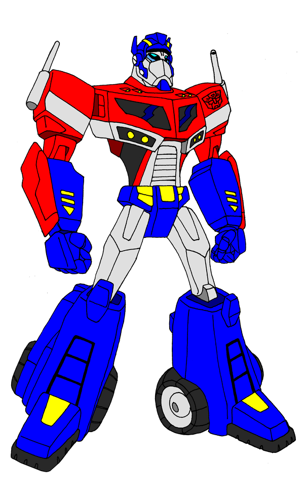 Clipart library: More Like Animated Optimus Prime.