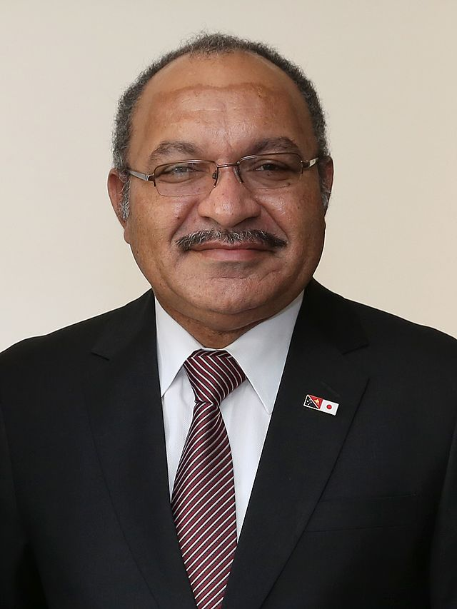 Prime Minister of Papua New Guinea.