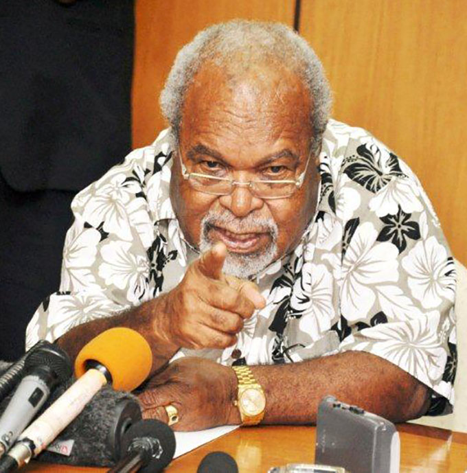 Sir Michael Somare: We Melanesians must make right choice on.