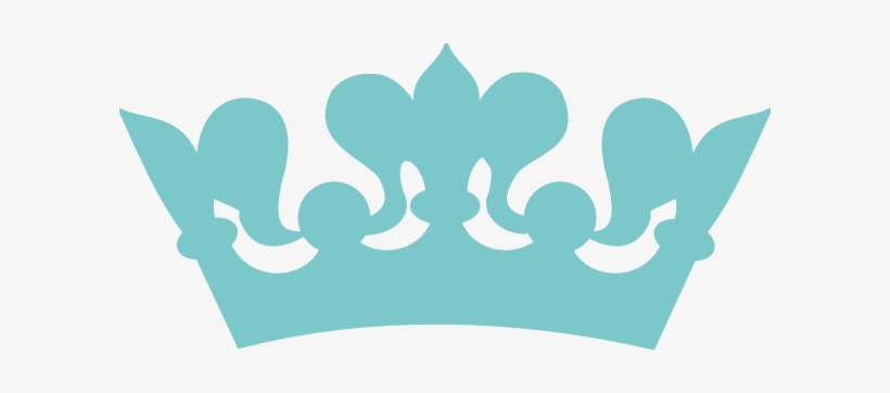 Teal Clipart Crown.
