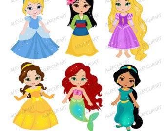 Princess clipart.
