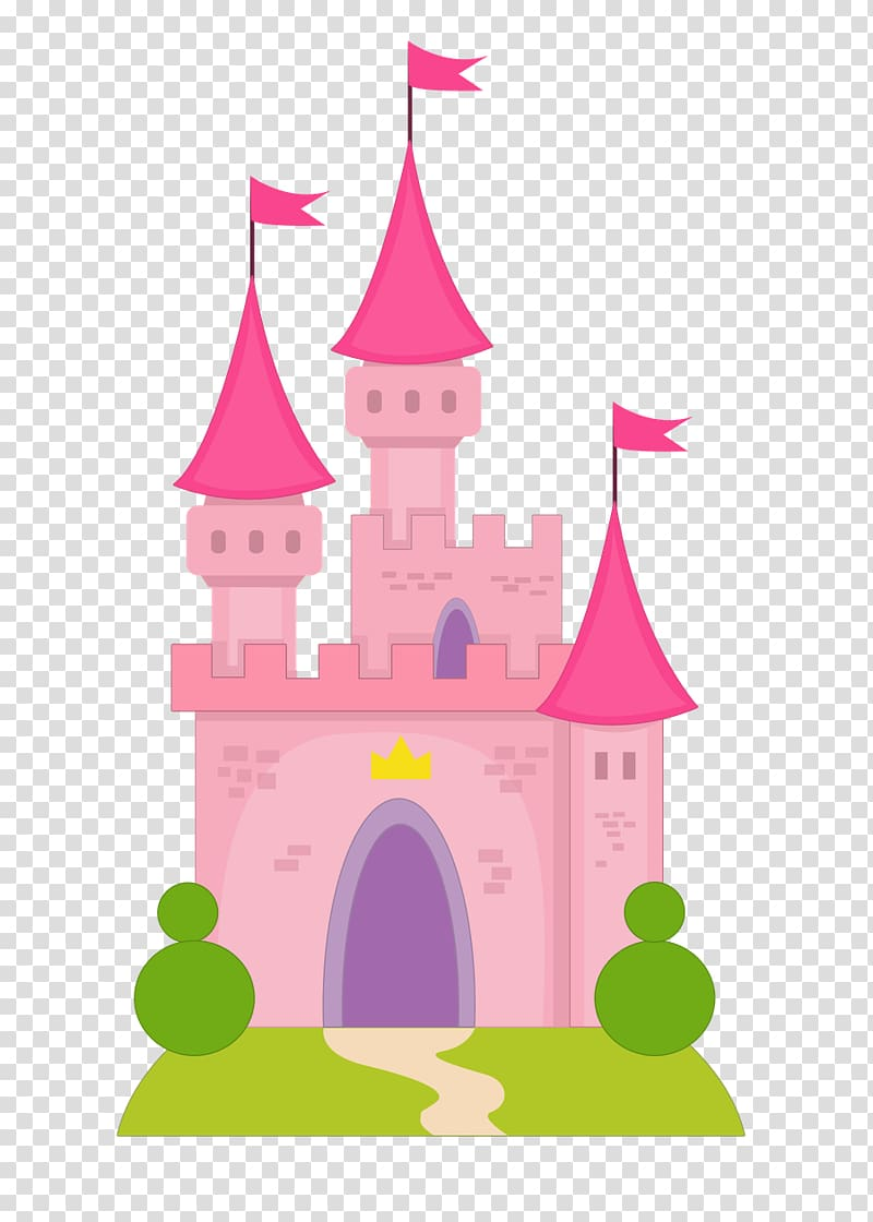 Cinderella Princess Aurora Disney Princess Castle, pink.