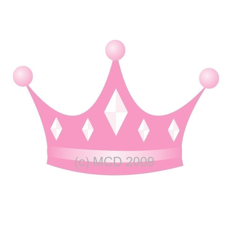 Clipart Princess Crown free image.