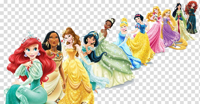 Disney Princesses illustration, Belle Disney Princess.