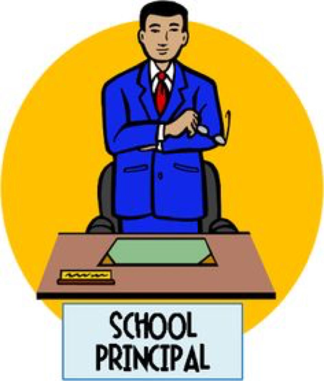 Clipart School Principal.