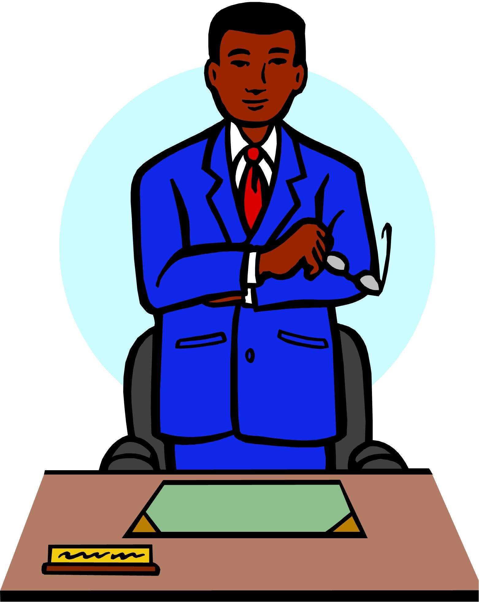 Principal clipart 4 » Clipart Station.