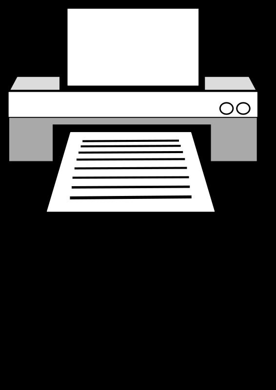 Free Clipart: Printer.