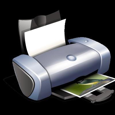 Clipart Printer transparent PNG.