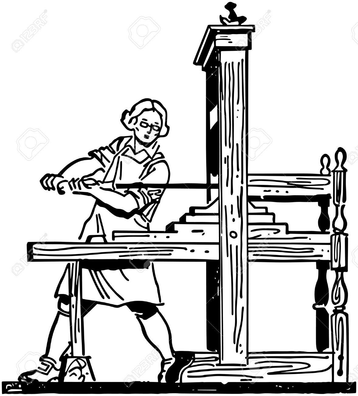 Colonial Printing Press.
