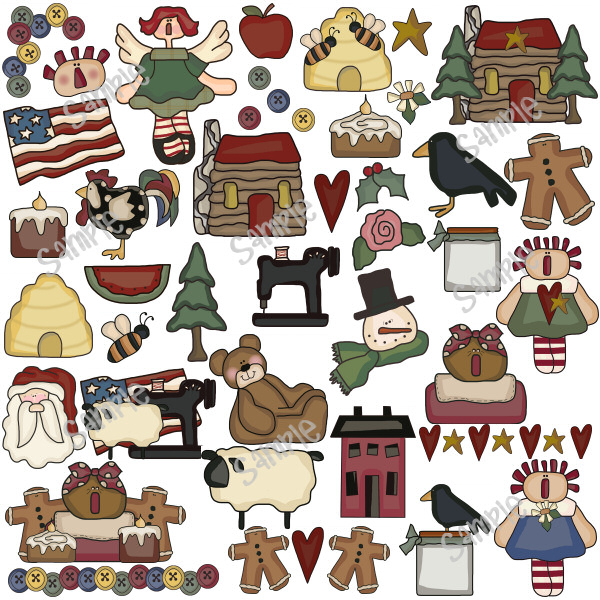 Free Primitive Country Cliparts, Download Free Clip Art.