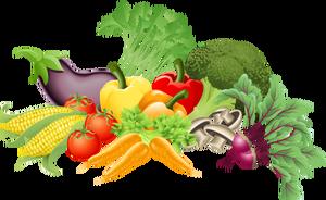 Fresh Vegetables Clipart.