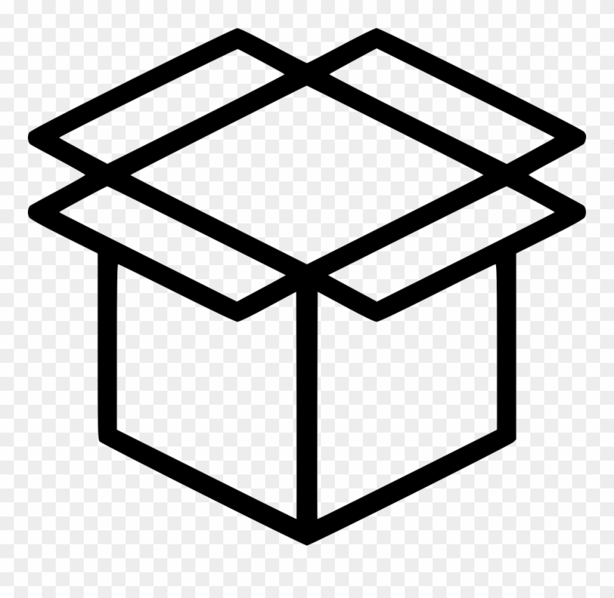 Vector Royalty Free Product Crate Package Parcel.