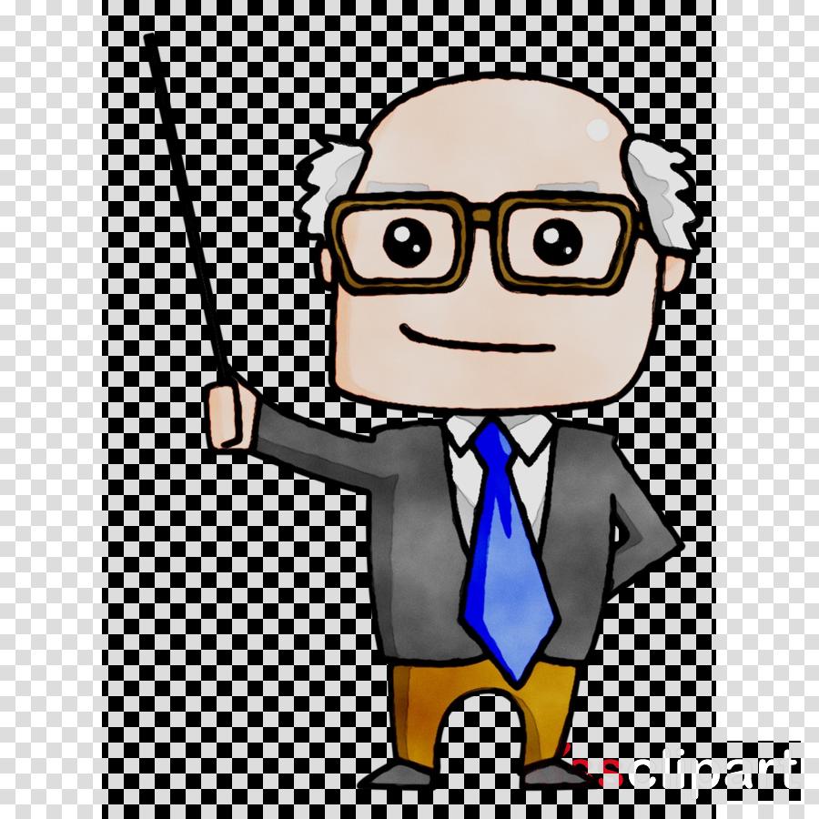 Teacher Cartoon clipart.