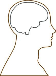 Profile Head Outline Printable.