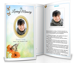 Funeral Booklet Sample.