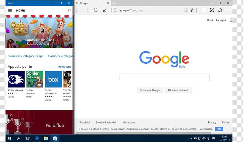 Computer program Microsoft Edge Web browser Windows 10.