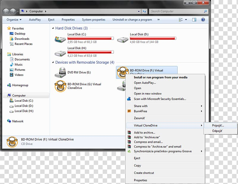USB Flash Drives Windows 7 Installation Directory, Computer.