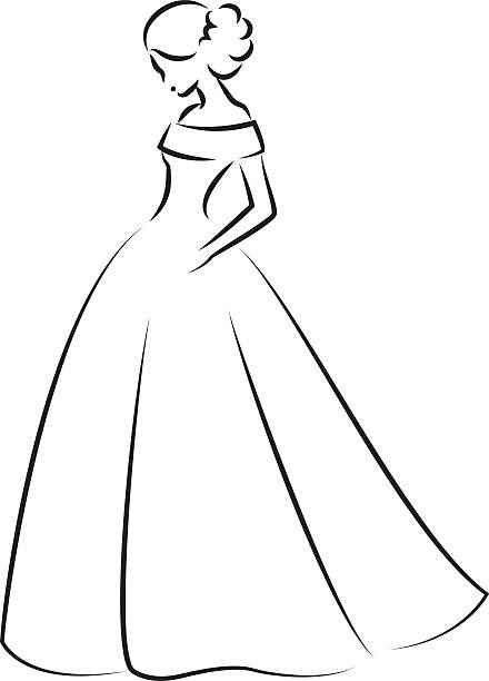 Prom dresses clipart 5 » Clipart Station.