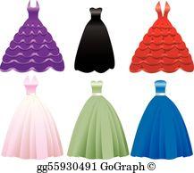 Prom Dress Clip Art.