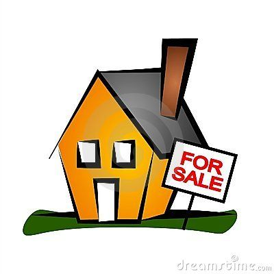 House For Sale clip art in 2019.