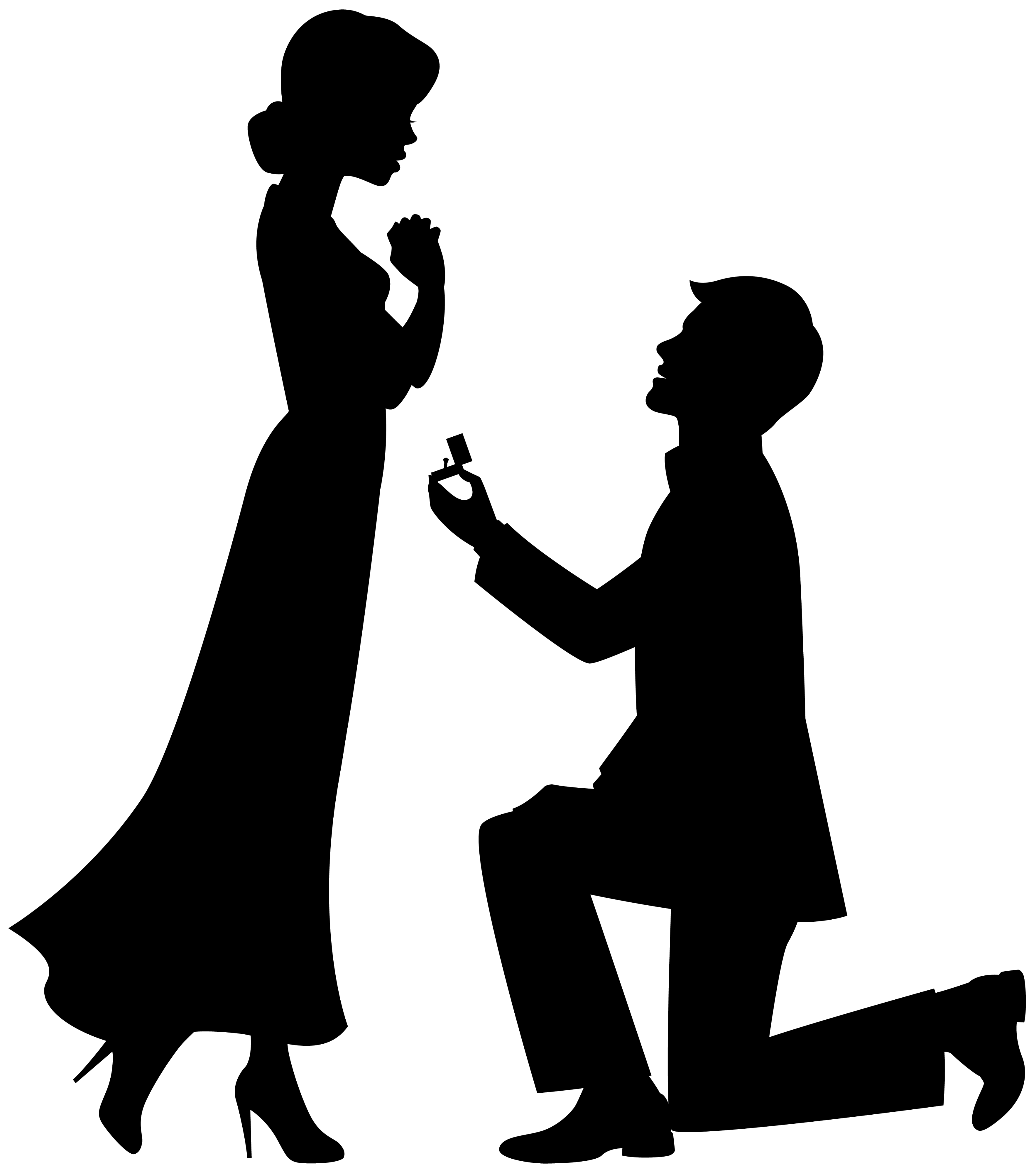 Marriage proposal Drawing Engagement Clip art.