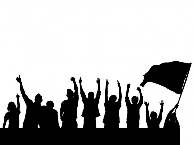 Peaceful protest clipart 6 » Clipart Station.
