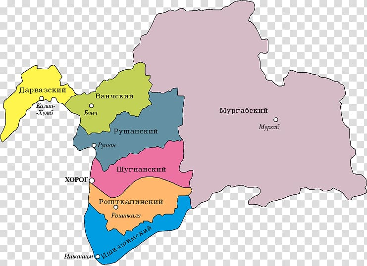 Murghob District Shughnon District Roshtqal\\\'a District.