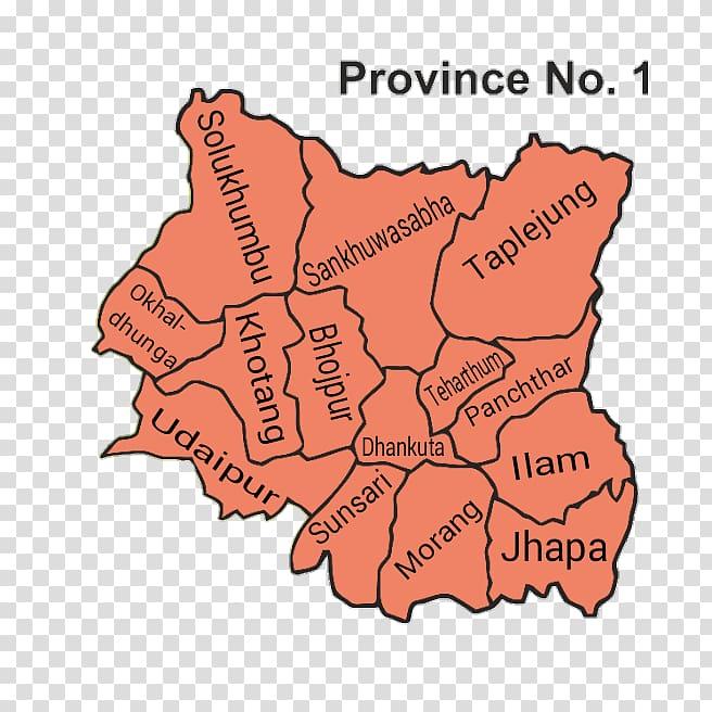 Province No. 1 Provinces of Nepal Dhankuta District.