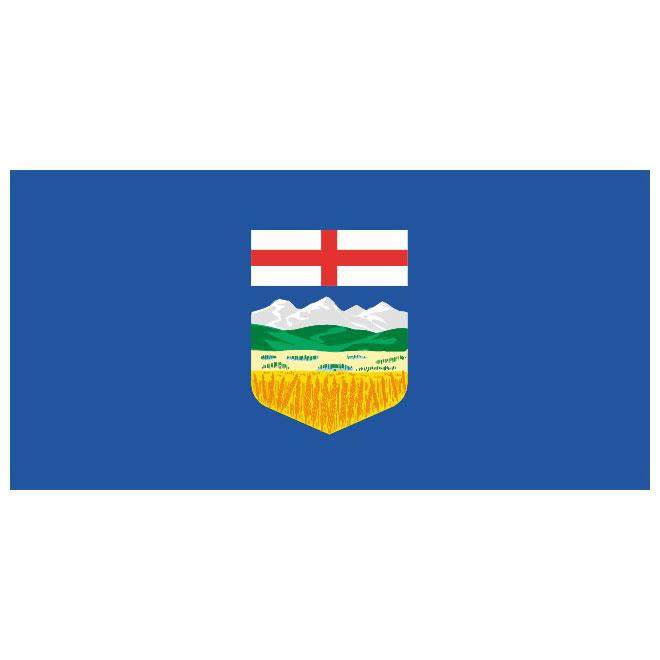 Alberta vector flag.