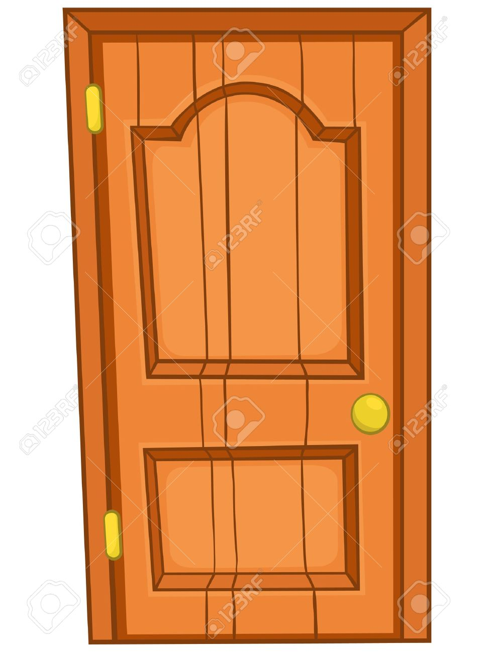 Door Clipart Puerta Pencil And In Color Puerta, Cartoon Clip Art.