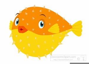 Puffer Fish Clipart.
