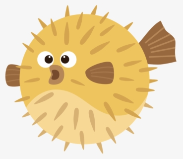 Free Puffer Fish Clip Art with No Background , Page 2.